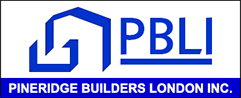Pineridge Builders London Incorporated Logo
